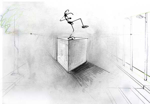 stage atelier cours dessin croissy sur seine anatomie et perspective