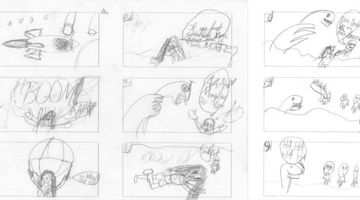Lina, le storyboard