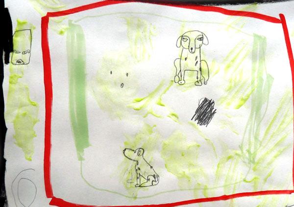 stages atelier arts plastiques  dessin peinture  enfants art croissy sur seine_ancrage_Leon