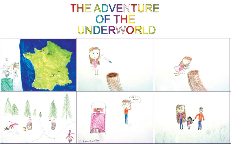 Atelier_stage_dessin_ancrage_bandes_dessinees_croissy_sur_seine_Pilar_adventure_of_underworld_PX